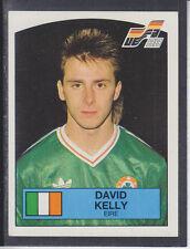Panini Euro 88 - # 206 David Kelly-Irlanda