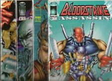 BLOODSTRIKE ASSASSIN #0-#3 SET  (NM) IMAGE COMICS