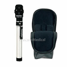 NEW WELCH ALLYN 2.5V POCKETSCOPE OPHTHALMOSCOPE WITH AA HANDLE & SOFT CASE 12821