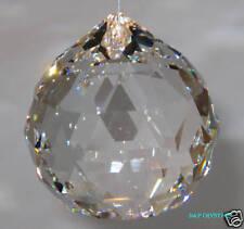 Colgante bola de cristal de Sun Catcher Feng Shui Arco Iris Prisma móvil carillón de viento