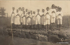 * CAMEROON - Photopostcard - First Communions in Bamenda