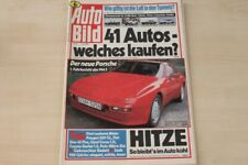 1) Auto Bild 29/1986 - Volvo 360 GLE mit 111PS im  - Porsche 944 S mit 190PS im