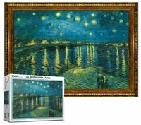 [Puzzle Life] Van Gogh Starry Night Over the Rhone - 1000 Piece Puzzle Jigsaw