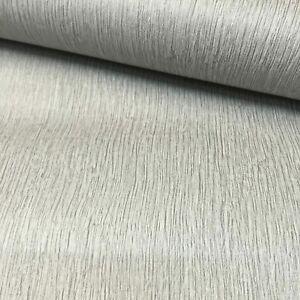 P+S Plain Light Grey Lines Embossed Texture Free Match Wallpaper 05229-20