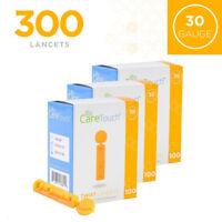 Care Touch Twist Top Lancets, 30 Gauge - 300 Lancets