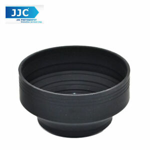 JJC LS-67S 67mm Stage Collapsible Silicone Standard Lens Hood for Camera