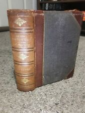 THE GREAT CONTROVERSY between Christ and Satan Ellen G. White 1888 rare Leather