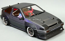 Custom RC 1/10 Drift TOYOTA TRUENO AE86  AWD BELT CAR RTR