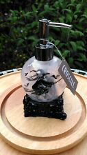 Witch on Broomstick print Halloween Soap Pump Dispenser by Croscill