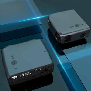 CAIWEI 8500LM Native 1080P LED Beamer 4K Video Heimkino Projektor HDMI USB DE