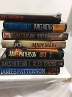 James Patterson lot of 7 different hardcover books