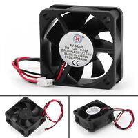 4Pcs DC Brushless Cooling PC Computer Fan 12V 0.18A 5020s 50x50x20mm 2 Pin Fan B