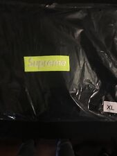 Supreme BOGO Hoodie Black Lime XL Box Logo Hooded Sweatshirt FW17 2017 NEW