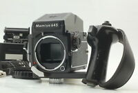 [Near Mint] Mamiya M645 1000S Late Model AE Finder w/ Left Grip From Japan
