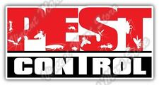 "Pest Control Service Exterminator Cockroach Car Bumper Vinyl Sticker Decal 6""X3"""