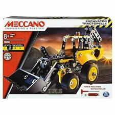 Erector by Meccano Excavator Truck Model Vehicle Building Kit (Read Description)