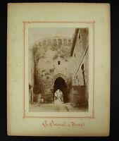 Fotografía Fino XIX Llaveros El Léhon De Murallas Dinan Bretaña Medieval