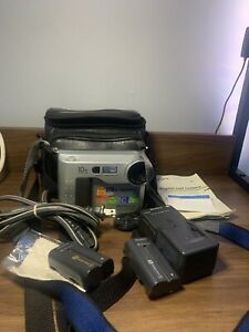SONY MVC-FD73 Vintage Digital Camera With Case Batteries Charger And Documents