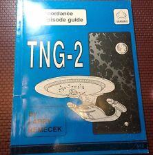 Star Trek TNG-2 Concordance & Episode Guide Trade Book SC