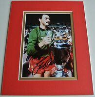 Bruce Grobbelaar Signed Autograph 10x8 photo display Liverpool Football & COA