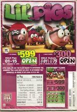 "Pull Tab Ticket ""LiL' PIGS""  $361.00 PROFIT - FREE SHIPPING"