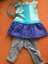 American Girl Doll COLOR BLOCK DRESS TIGHTS HEADBAND NEW in package