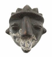 Masquette Votive Terra Cotta Rituale Etnico Maschera Fetish Arte Africano 6496