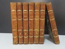 PLANCHE, Cours de littérature Grecque, 7vol, 1827/1828 (ex-Libris L. Dechelette)