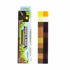 Light Up Torch LED Minecraft Hand Held or Wall Mount Flashlight Toys Kids Gift