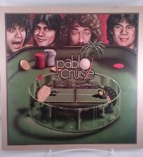 "Promo poster flat Pablo Cruise Part of the Game 12""X12"" record store 1979 A&M"