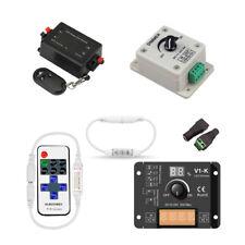 8A/30A LED strip Dimmer remote Controller DC12V 24V Adjustable Brightness Switch