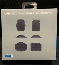 GOPRO CURVED + FLAT ADHESIVE MOUNTS COMPATIBLE WITH ALL GOPRO CAMERAS