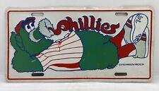 Vintage 1978 Philadelphia Phillies Baseball Philly Fanatic License Plate