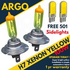 H7 Bombillas 100w Xenon Super Amarillo sumergido Faro Haz Principal 501 COB LED