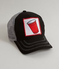 NEW PETER GRIMM SLOSHED SOLO CUP PARTY CAP HAT TRUCKER SNAPBACK  FREE SHIP!!!