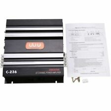 3800W 2 Channel Car Audio Amplifier Stereo Bass Speaker Amp For Subwoofer USA