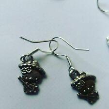 HELLO KITTY SANRIO  kitten earrings 925 silver posts drop earrings MEXICAN
