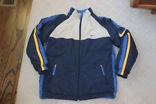Kids Youth Nike Reversible Winter Coat Fleece Lined Blue Size 14 16 Large
