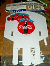 VINTAGE PK PRODUCTS COCA COLA COKE PLASTIC WASTEBASKET BASKETBALL HOOP SEALED