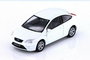 Ford Focus ST, White - Welly 42378D - 1/32 scale Diecast Model Toy Car