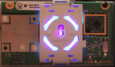 XBOX 360 PURPLE / UV RING OF LIGHT / RF BOARD MODULE - REPLACEMENT POWER BUTTON