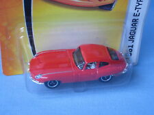 MATCHBOX JAGUAR E TYPE COUPE 1961 Rosso Body English auto sportiva Giocattolo in BP 70mm