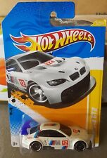 Hotwheels 2012 - BMW M3 GT2 [WHITE][LONG CARD VHTF] *12 CARS POSTED FOR $10*
