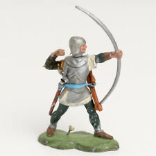 Britains Swoppet Knight with longbow and arrows white knight