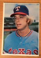 """1980 Topps Baseball Superstar Photo Card Buddy Bell #47 Texas Rangers 5"""" X 7"""""""