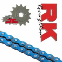 Yamaha WR125 R/X Chain and Sprocket Kit Blue RK Racing 09-17