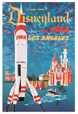 Tamaño A3-Disneyland-Retro Vintage De Viajes Y Los Ferrocarriles cartel impresión # 3