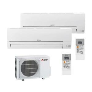 MITSUBISHI Multisplit Basic Klimaanlage 1x HR25+HR35 MXZ-2HA40VF R32 A++/A+