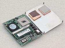 Motherboard Advantech Som-4472 Som4472 CPU via 128mb RAM Som-Etx LCD / Lvdc