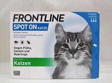FRONTLINE Spot on Katze 3 Pipetten à 0,50 ml gegen Flöhe, Zecken und Haarlinge